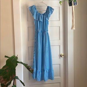 Tommy Bahama Dresses - Tommy Bahama Blue&White Striped Dress